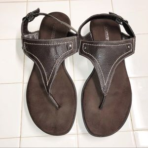 Aerosoles brown sandals size 8.5